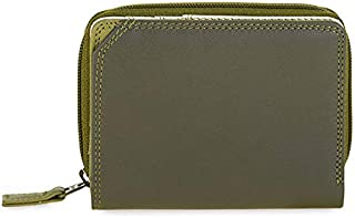 mywalit Women's Small Wallet W/Zip Around Purse Green
