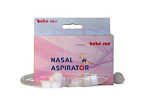 BEBE SAN® Nasensekret-sauger + 5 Ersatzfilter ENTHALTEN