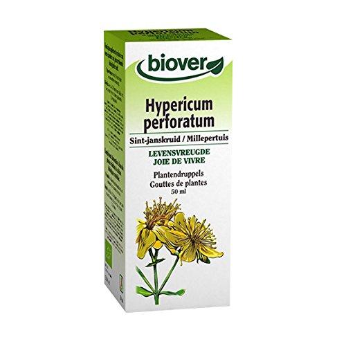 Biover - Extrait liquide millepertuis - 100 ml flacon - Joie de vivre