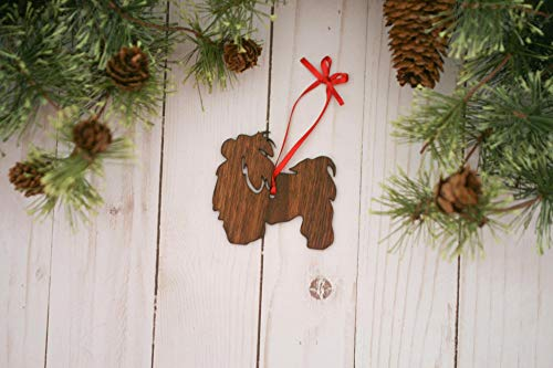 playtailor Shih Tzu Dog Ornament   D Dog Ornaments - Funny Ornament Christmas