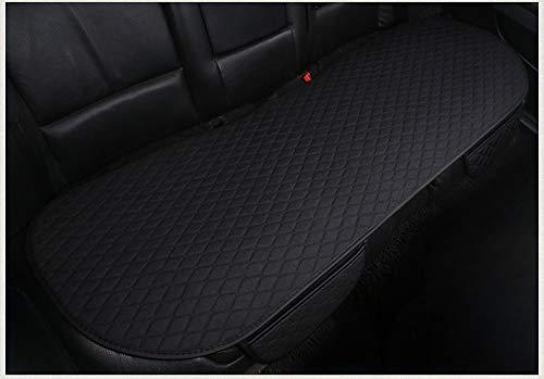 GLITZFAS Autositzauflage Universelle Sitzauflage Autositzbezüge Schonbezüge für die Vordersitze & Rückbank 1pcs/3pcs (Schwarz,Rücksitz)