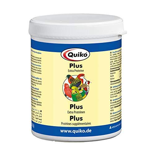 Quiko Plus 400g - Extra Proteine für junge Vögel, Ziervögel, Brieftauben & Hühner