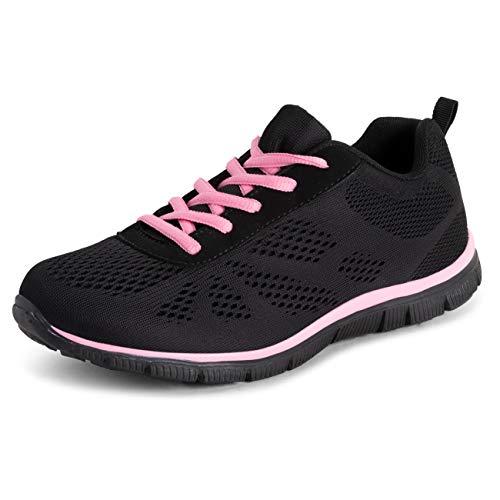 Get Fit dames mesh lopen turnschoenen sportief walk fitnessstudio Shuhe Sport Run