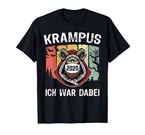 Krampus Masken Kostüm Kramperl Maske Männer Geschenk Spruch T-Shirt