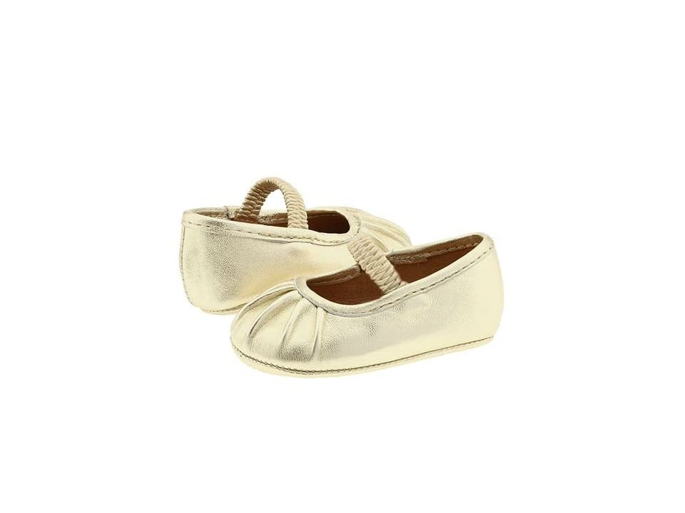 Polo Ralph Lauren Kids Pleat (Infant) (Platinum Lambskin) Girls Shoes
