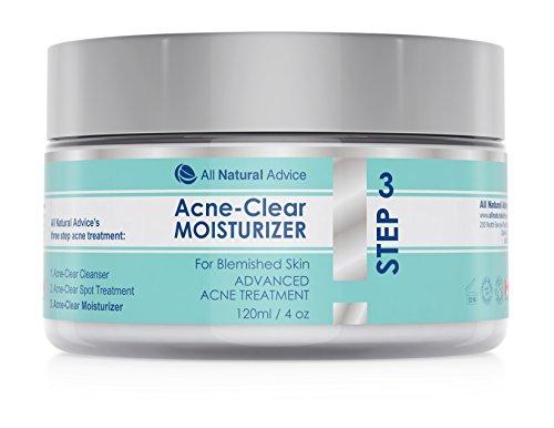 Acne-Clear Feuchtigkeitscreme   120 ml Inhalt   Behandlung von Akne und Hautunreinheiten   Für sichtbar reinere Haut   Hilft besonders sensibler Haut   Für Männer & Frauen   Kanadisches Erfolgsprodukt