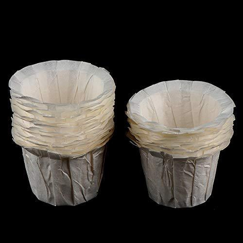 HUAIHUA 20 Stück/Schachtel Austauschbarer Kaffeefilter, Filtertasse Kaffee