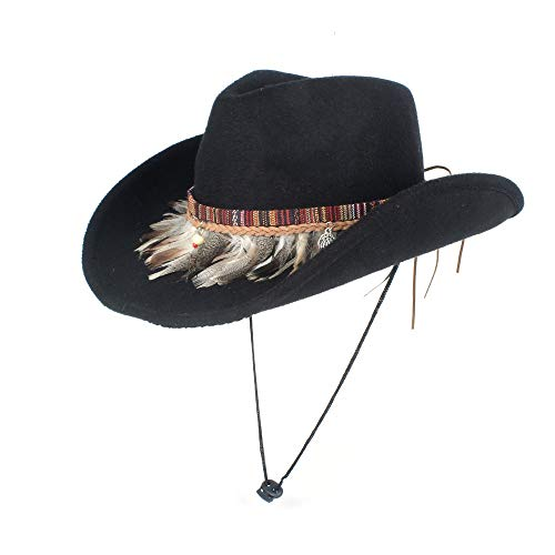 2019 Jane' Store Lana Sombrero de Vaquero Occidental con Sombrero Info