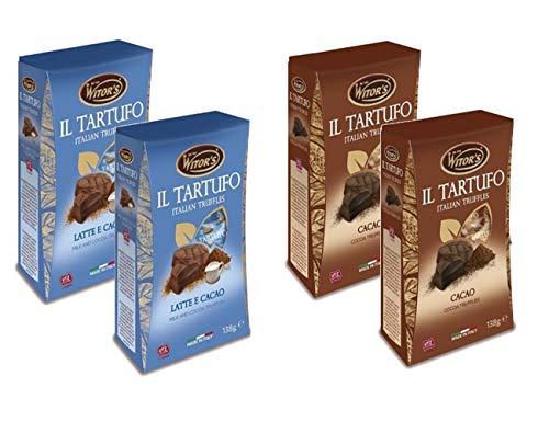 ウィターズ イタリア産 トリュフチョコレートセット 4箱