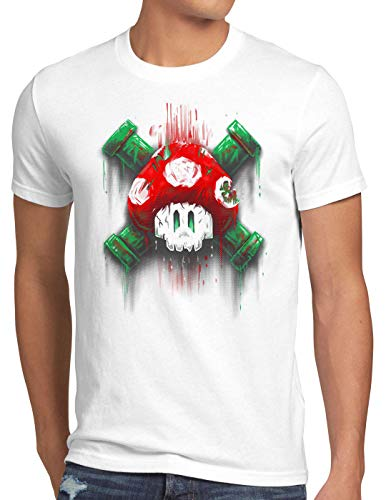 style3 Mario Calavera Camiseta para...