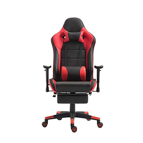 Video Game Chair,Rotating Ergonomic E-Sports Chair Indoor Tables and Chairs Computer Chair Office Chair Office Chair Racing Game to Promote The Comfortable Sitting Chair for Working Gaming (Co