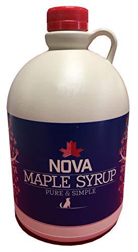 Nova Maple Syrup - Pure Grade-A Maple Syrup (Half Gallon)