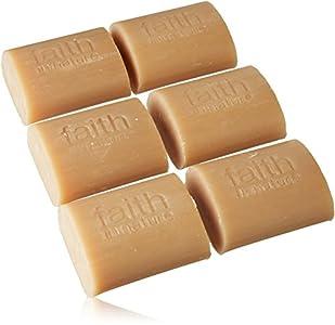 Faith In Nature Jabón de Manos Natural de Coco, Hidratante, Vegano y No Testado en Animales, sin Parabenos ni SLS, 18 x 100g 1800 g