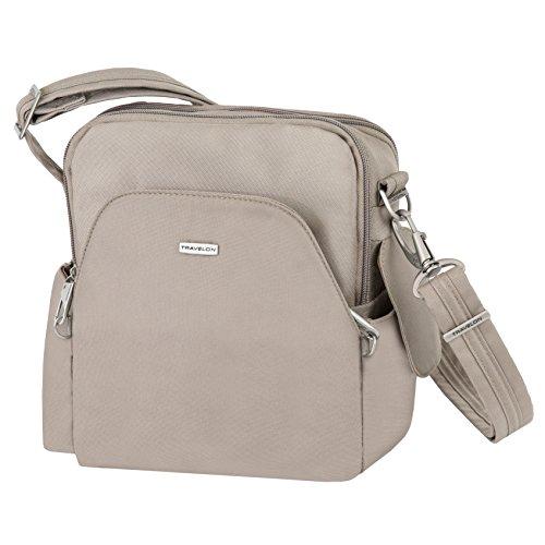 Travelon Anti-Theft Classic Travel Bag, Stone, One Size