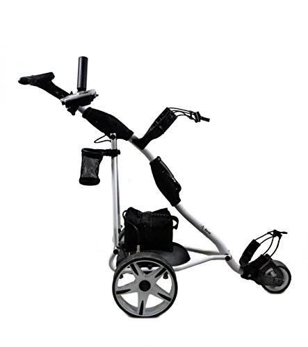 Zerimar Airel Golf Cart Elektrisch | Golfwagen Trolley Klappbar | Golftrolley 3 Rad | Golftrolley Elektro Lithiumbatterie