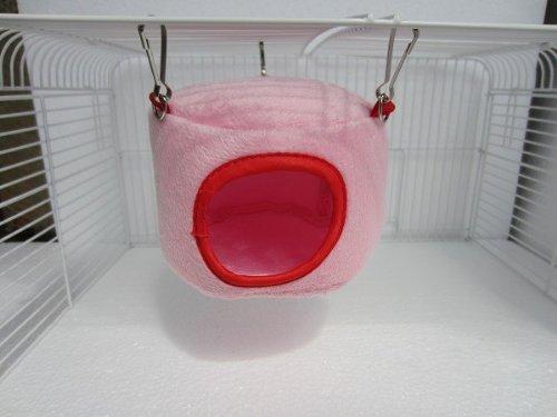 Rose Hamac lit suspendu Maison à Rat Oiseau Hamster furets Parrot Toy souris