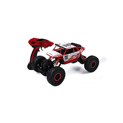 LQZCXMF Coche de escalada en roca 2.4G, tracción en las cuatro ruedas, control remoto, bigfoot, modelo de juguete de carreras todoterreno con capacidad súper todoterreno El poder del buggy RC es bueno