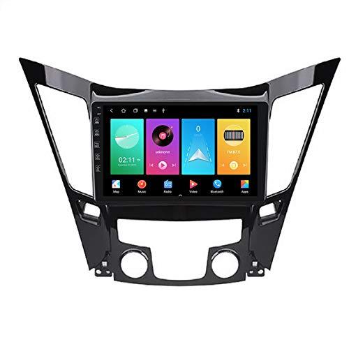 WHL.HH Auto Estéreo Cabeza Unidad Radio por 2011-2015 Hyundai Sonata I40 I45 I50 Androide 10 GPS Navegación 9 Pulgadas IPS Tocar Pantalla Multimedia Jugador