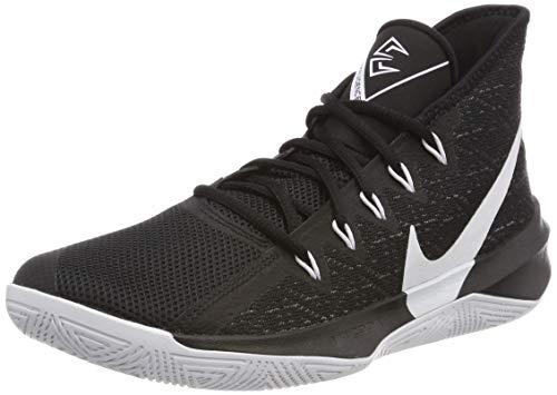 Nike Zoom Evidence III, Zapatos de Baloncesto Hombre, Negro (Black/White/Black 002), 49.5 EU