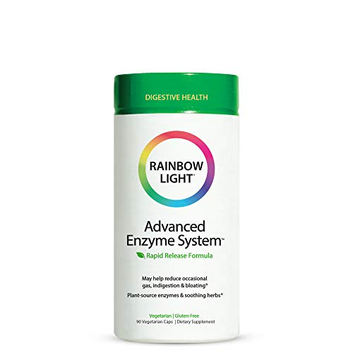 Rainbow Light Advanced Enzyme System Capsules, 90 Count