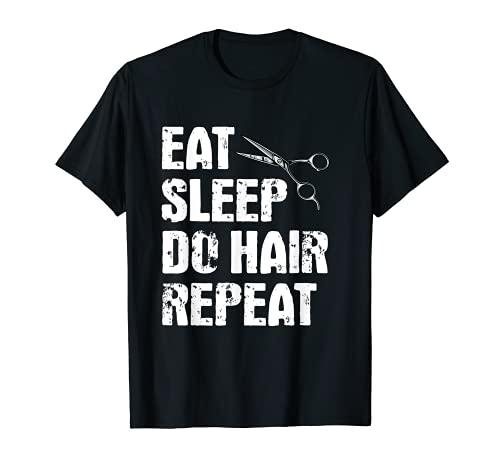Funny Barber Apparel Hairdresser Cutting Hair Salon T-Shirt