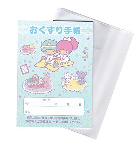 BUXUS STYLE お薬手帳セット キャラクターお薬手帳1冊 お薬手帳カバー1点 (キキララ)