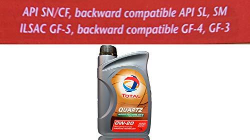 Total Quartz 9000 Future GF5 0W-20 motorolie 1 l