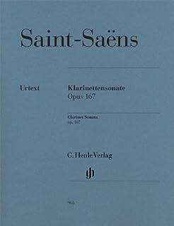 サン・サーンス : ソナタ 作品167 (クラリネット、ピアノ) ヘンレ出版