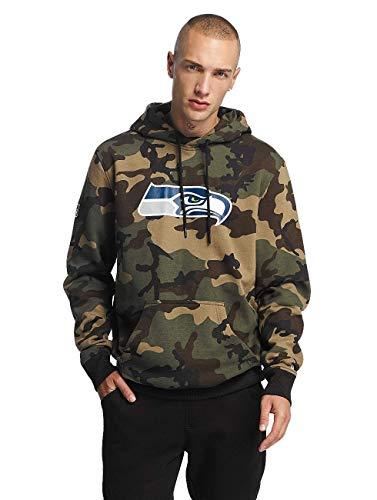 New Era Herren Oberteile / Hoody Woodland Seattle Seahawks camouflage XL