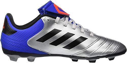 adidas Copa 18.4 FxG, Chaussures de Football Mixte Enfant, Multicolore (Plamet/Negbás/Fooblu 001), 38 EU