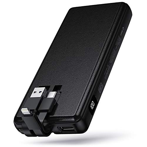 ZMNT Portable Charger 26800mAh,Essential High-Speed Power Bank USB-C,High-Capacity External Battery Pack for Cell Phone iPhone x/ 11 pro/ 11/ XR/8Plus, Samsung Galaxy/Note, iPad,LG,and More.(Black) 1