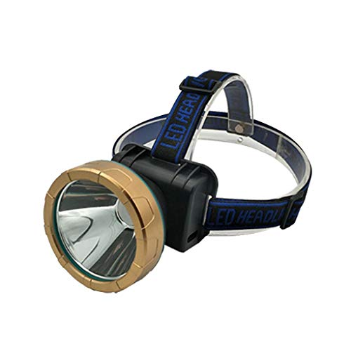 Nosterappou LED Que Carga los Faros del Sensor de luz de Cabeza Fuerte, se Puede Girar 90 Grados hacia Abajo, 2 Modos de Funcionamiento, Camping, Pesca al Aire Libre, concentración de Largo Alcance a