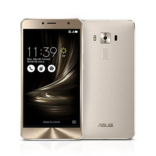 ASUS ZS550KL-S625-3G32G-SL ZenFone 3 Deluxe 5.5-inch 3GB RAM, 32GB storage Unlocked Dual SIM Cell Phone, US Warranty (ZS550KL-Glacier Silver)