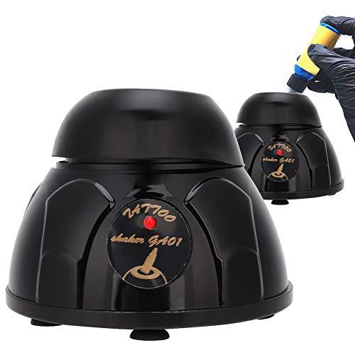Tattoo Pigment Shaker, 100-240V 5200rpm 10s Intelligent Electric Tattoo Ink Shaking Nail Polish UV Gel Liquid Bottle Shaker Machine for Professional A