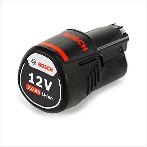 Bosch Professional GBA 12V 2.0Ah - Batería de litio (1 batería x 2.0 Ah, compatible 10,8V / 12V)