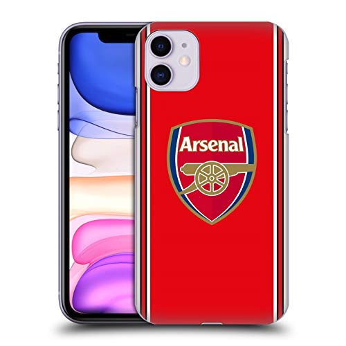Official Arsenal FC Home 2019/20 Crest Kit Hard Back Case Compatible for iPhone 11