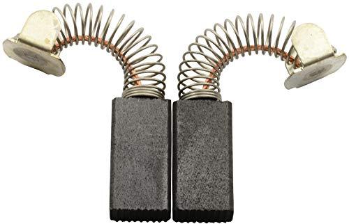 Escobillas de carbón Buildalot Specialty ca-07-76065 para Skil Martillo 736 H - 6,4x10x19,5 mm