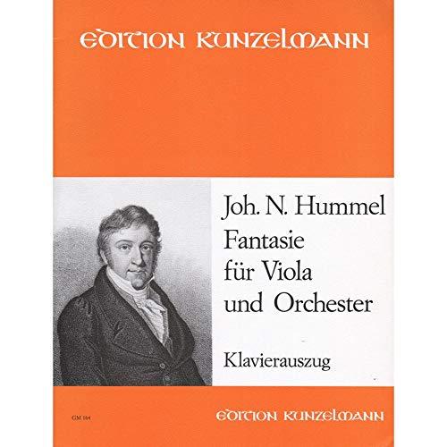 Hummel, Johann Nepomuk: Fantasie für Viola und Orchester : für Viola und Klavier