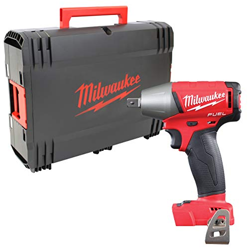 Milwaukee 4933451449 M18FIWP12-0X M18 FIWP12-0X 18V Li-Ion Accu slagmoersleutel Body in HD Box-300Nm-1/2, 18 V