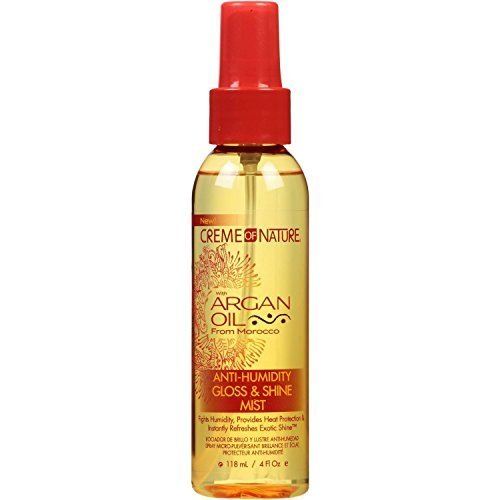 Creme Of Nature Argan Oil Gloss & Shine Mist 4oz (3 Pack) by Creme of Nature