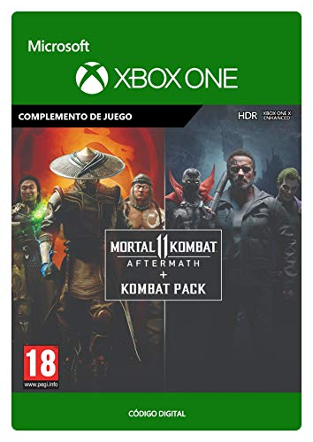Mortal Kombat 11 Aftermath + Kombat Pack | Xbox One - Código de descarga
