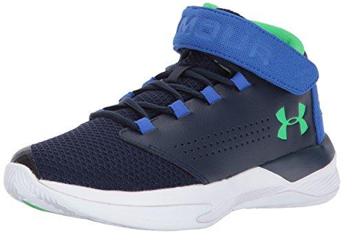 Under Armour UA BGS Get B Zee, Zapatos de Baloncesto para Niños, Azul (Midnight Navy), 36.5 EU