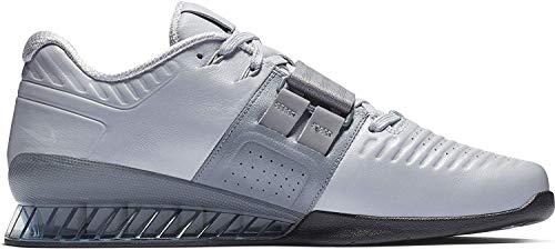 Nike Romaleos 3 Xd, Scarpe da Fitness Unisex-Adulto, Multicolore (Wolf Grey/Cool Grey/Black 010), 44 EU
