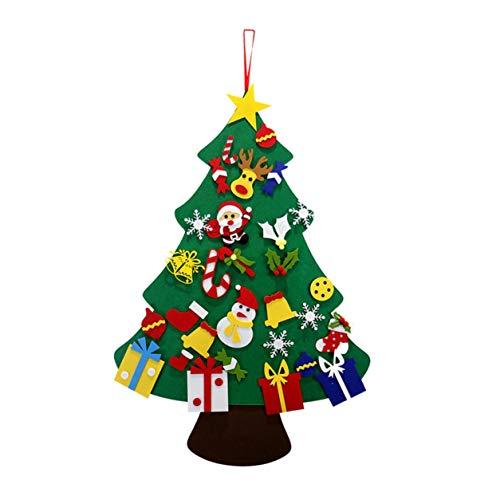 YXDS Felt Christmas Tree Christmas Decoration Pendant Children's Handmade DIY Puzzle Three-Dimensional Christmas Tree