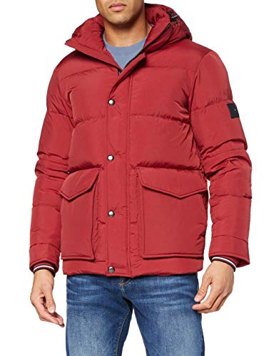 Tommy Hilfiger Tommy Down HDD Jacket Chaqueta, Arizona Red, S para Hombre