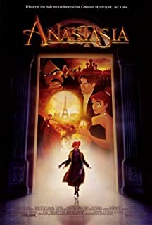 Anastasia Movie Poster (27 x 40 Inches - 69cm x 102cm) (1997) Style D -(Meg Ryan)(John Cusack)(Kelsey Grammer)(Angela Lansbury)(Christopher Lloyd)(Hank Azaria) by MG Poster