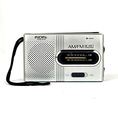 Docooler BC-R21 Mini Radio Portable Speaker AM FM Adjustable Telescopic Antenna Pocket Radios