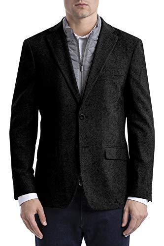 Tommy Hilfiger Men's Classic Heritage Blazer, Black, 46R