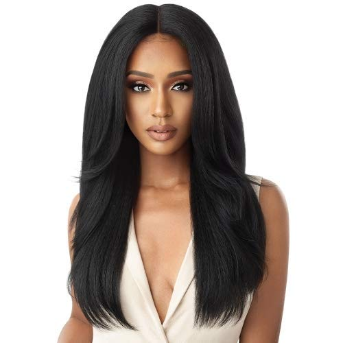 Outre Neesha Soft & Natural Synthetic Swiss Lace Front Wig NEESHA 203 (S1B/30)