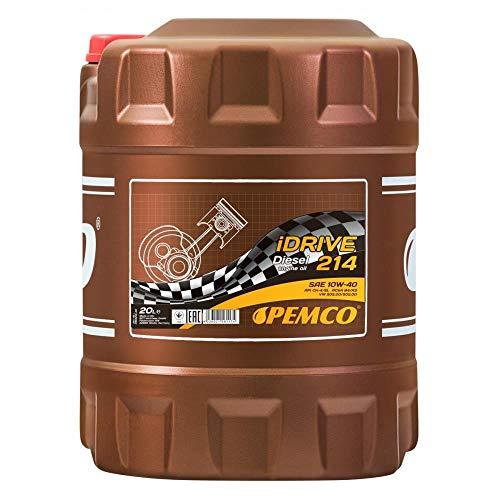 20 Liter, Pemco iDrive 214 / 10W-40 Dieselmotorenöl